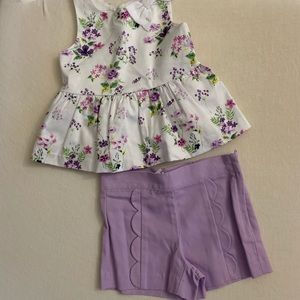 Little girls Janie and Jack Outfit NWT